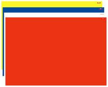UNI ROOD Speelkleed L (100x150cm) L353