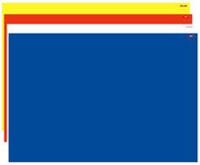 UNI BLAUW Speelkleed L (100x150cm) L351